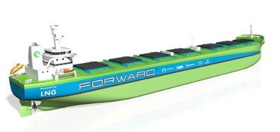 Best foot Forward with LNG-powered bulk carriers